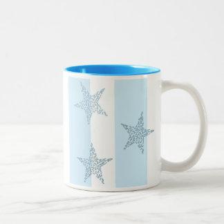 Blue Stars and Stripes Coffee Mugs