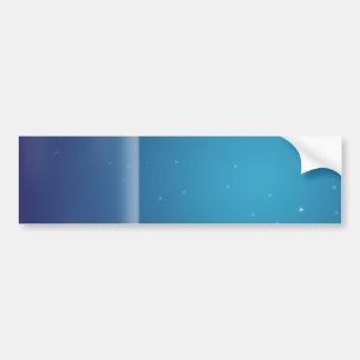 Blue Stars Bumper Sticker