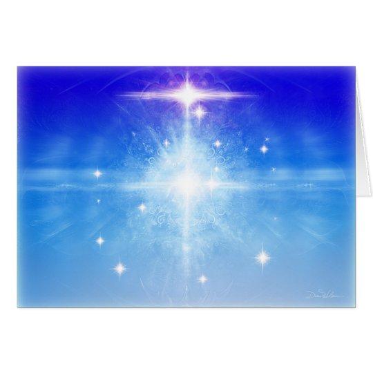 Blue Stars Card