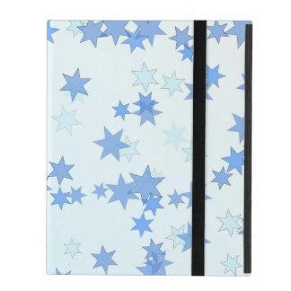 Blue Stars Design iPad Folio Case