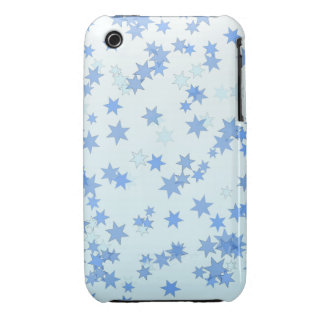 Blue Stars Design iPhone 3 Covers