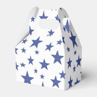 Blue Stars Favor Box