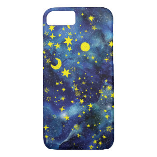 Blue stars phone case