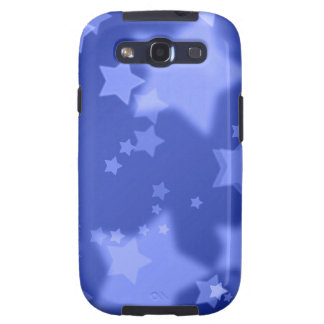 Blue Stars Samsung Galaxy S Case-Mate Bare Galaxy SIII Covers