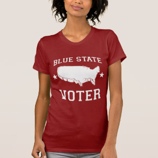 BLUE STATE VOTER - TEE SHIRT
