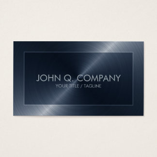 Blue Steel Look Business Card