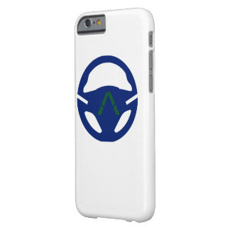 BLUE STEERING WHEEL BARELY THERE iPhone 6 CASE