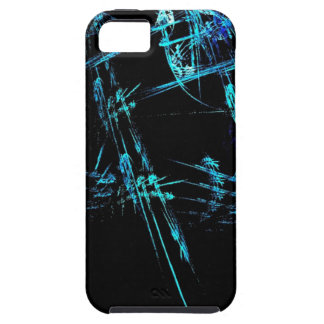 Blue Stick Man iPhone4 Case