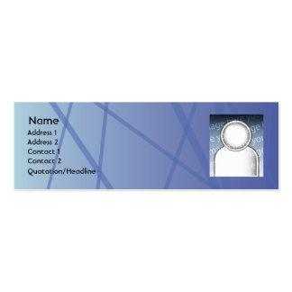 Blue Sticks - Skinny Pack Of Skinny Business Cards
