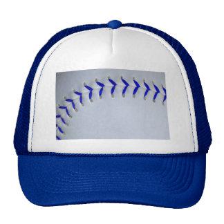 Blue Stitches Baseball / Softball Cap