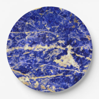 Blue Stone 9 Inch Paper Plate