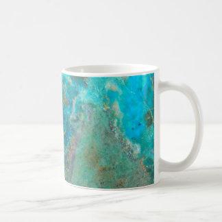 Blue Stone Image Coffee Mug