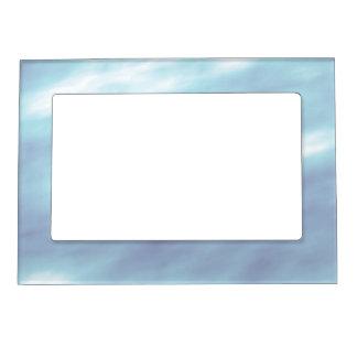 Blue Storm Clouds Photo Frame Magnet