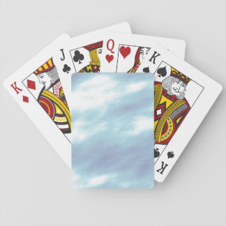 Blue Storm Clouds Playing Cards