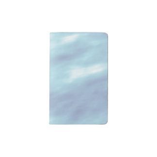 Blue Storm Clouds Pocket Moleskine Notebook