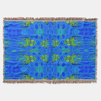 Blue Storm SDL Throw Blanket