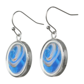 Blue Streak Earrings