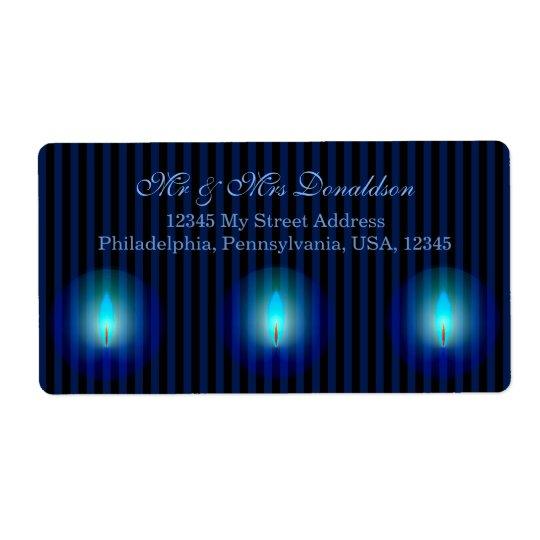 Blue Stripes Address