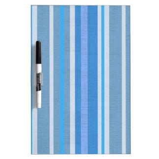 Blue Stripes Dry Erase Boards