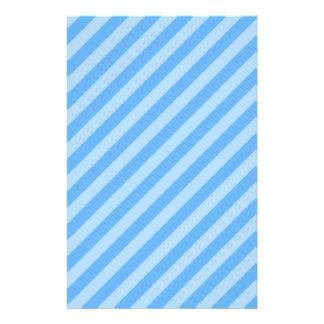 Blue Stripes. Flyer Design