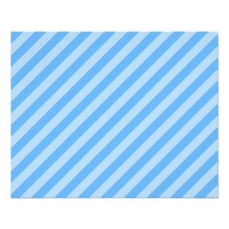 Blue Stripes. Flyers