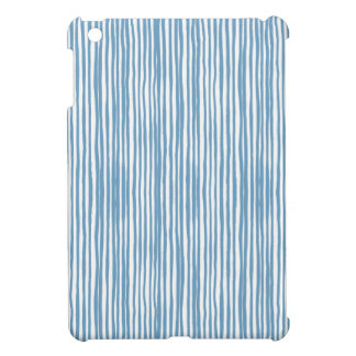 Blue stripes iPad mini covers