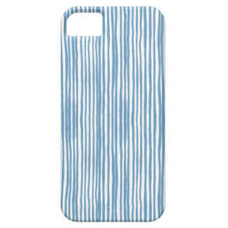 Blue stripes iPhone 5 cases