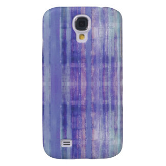 Blue Stripes Pattern Galaxy S4 Cases