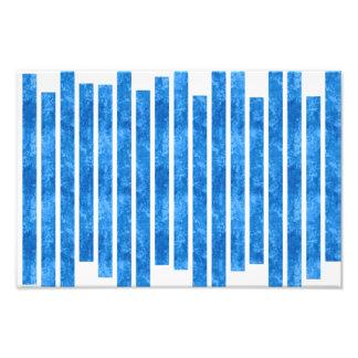 Blue stripes photo art