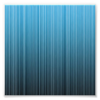 Blue Stripes Photographic Print