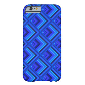 Blue stripes scale pattern barely there iPhone 6 case