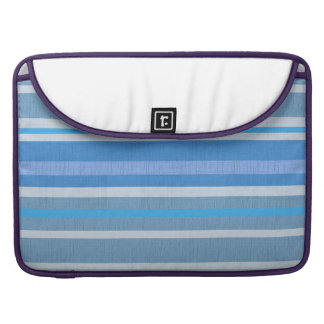 Blue Stripes Sleeve For MacBook Pro