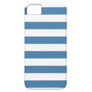 Blue Stripes, Trendy pattern iPhone 5 case