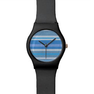 Blue Stripes Watch