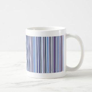Blue Stripped Mug