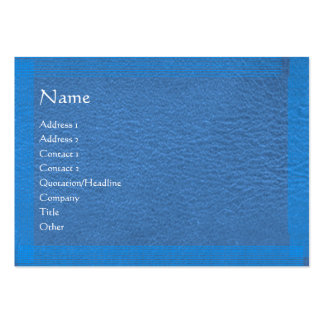 Blue Stylish Border n Surface Pack Of Chubby Business Cards