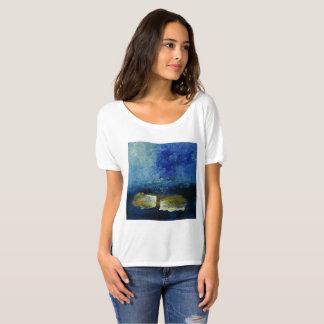 Blue Summer Breeze Women's Bella Simple T-Shirt