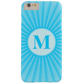 Blue Sun Monogram Customisable Barely There iPhone 6 Plus Case