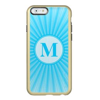 Blue Sun Monogram Customisable Incipio Feather® Shine iPhone 6 Case