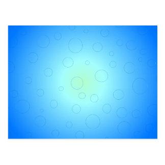Blue Sun Sky Bubbles CricketDiane Postcard