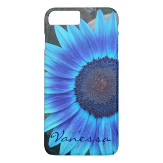 Blue Sunflower case *personalise*