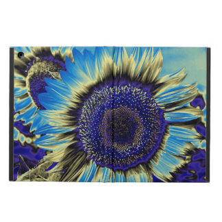 Blue Sunflower iPad Air Cover