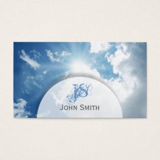 Blue Sunny Sky Business Card