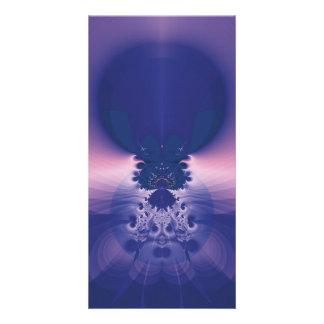 Blue Sunrise Photo Card Template