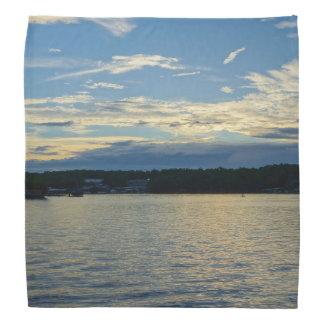 Blue Sunset Lake Of Ozarks Bandana