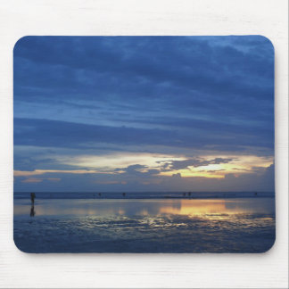 Blue Sunset Mouse Pad