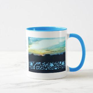 Blue Sunset Style 2 Mug