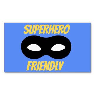 Blue Superhero Friendly Magnet