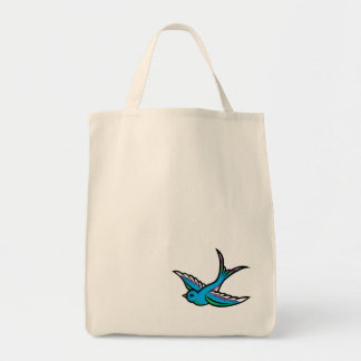 Blue Swallow Bag