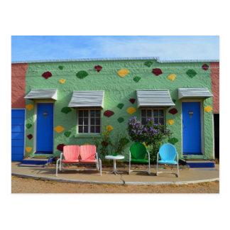 Blue Swallow Motel, Rooms 10 & 11, Tucumcari, N.M. Postcard